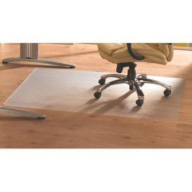 image-Cleartex Advantagemat Rectangular Chair Mat for Hard Floor Floortex Size: 115cm x 134cm