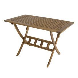 image-Ignacio Folding Wooden Dining Table Sol 72 Outdoor