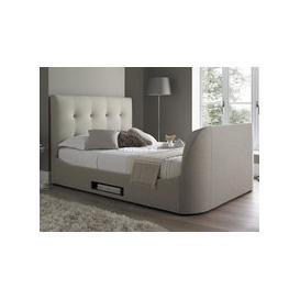 image-MW Kaydian Design Walkworth 6FT Superking TV Bed,Oatmeal