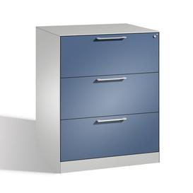 image-Luna 3 Drawer Filing Cabinet