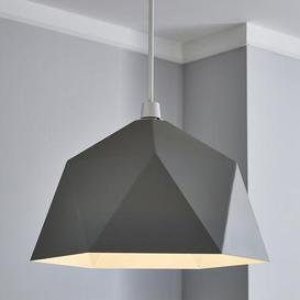 image-Lily Geometric Easy Fit Pendant Grey Grey