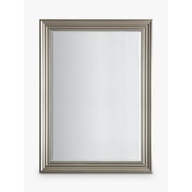 image-Haylen Rectangular Wall Mirror, Silver