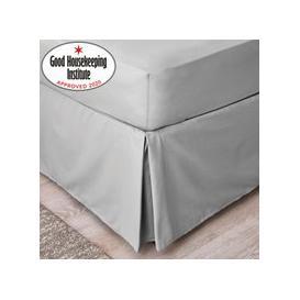 image-Non Iron Plain Dye Slate Grey Valance Slate (Grey)