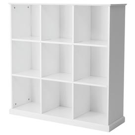 image-Great Little Trading Co Abbeville Nine Cube Storage Unit, White
