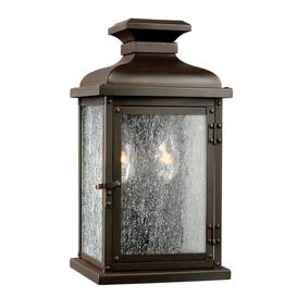 image-Molinar 2 Light Outdoor Wall Lantern Sol 72 Outdoor Size: 31.8cm H x 17cm W x 15.5cm D