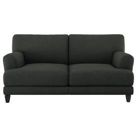 image-Habitat Askem 2 Seater Fabric Sofa - Charcoal