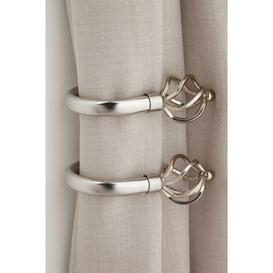 image-Pair of Bird Cage Curtain Hold Backs