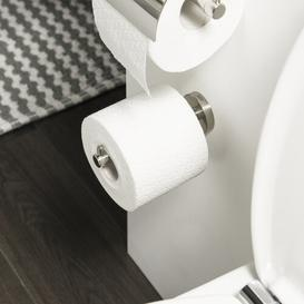 image-Boston Wall Mounted Toilet Roll Holder Tiger Finish: Chrome
