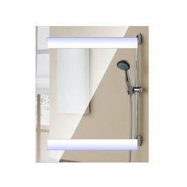image-Ryann 60cm x 80cm Surface Mount Mirror Cabinet with LED Lighting Belfry Bathroom