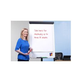 image-Mobile Easel With Star Base, Free Standard Delivery