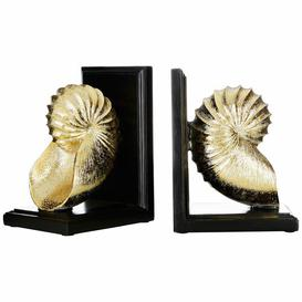 image-Seashell Bookends Breakwater Bay