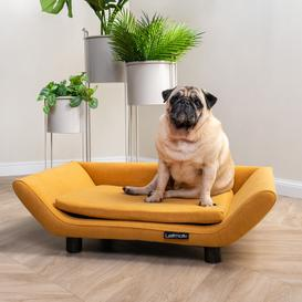 image-Explicit Suede Dog Sofa