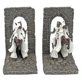 image-Knight of Digital Realm Sculptural Bookends Design Toscano