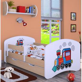 image-Manzanares Cot Bed / Toddler (70 x 140cm) Bed Frame with Drawer Isabelle & Max Colour (Bed Frame): Cream