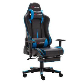 image-Forada Ergonomic Gaming Chair Brayden Studio Colour (Upholstery): Blue