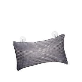 image-Aqualona Waffle Grey Bath Pillow