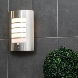 image-Chiswick Outdoor Bulkhead Light with Motion Sensor Sol 72 Outdoor Bulb Included: Yes, Colour Temperature: 3000K