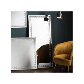 image-Gallery Direct Eastmoore Rectangular Leaner Mirror - Silver 60cm x 135cm