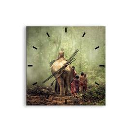 image-Conall Silent Wall Clock Bloomsbury Market Size: 60cm H x 60cm W x 0.4cm D