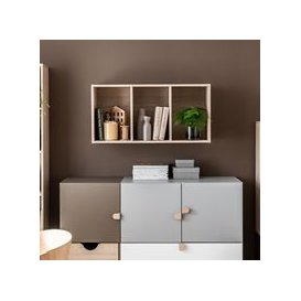 image-Vox Stige Modular Wall Shelf - Pine