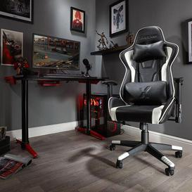 image-Bravo Gaming Chair X Rocker Colour: White
