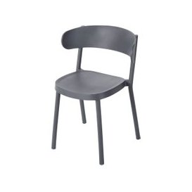 image-Professional Anthracite Grey Garden Chair Iza Business