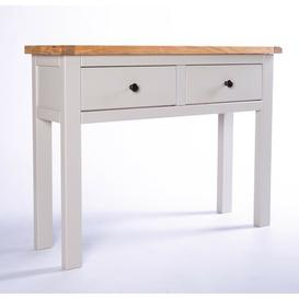 image-Espino Console Table Brambly Cottage Knob Colour: Brass