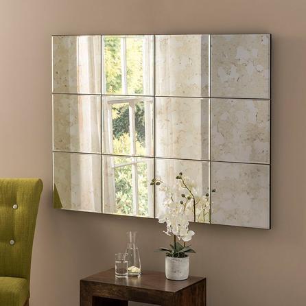 image-Yearn Manhattan Antique Mirror 123x91cm Clear