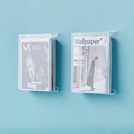 image-Magazine/brochure rack, A4, 2-pack
