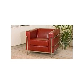 image-Oakland armchair red