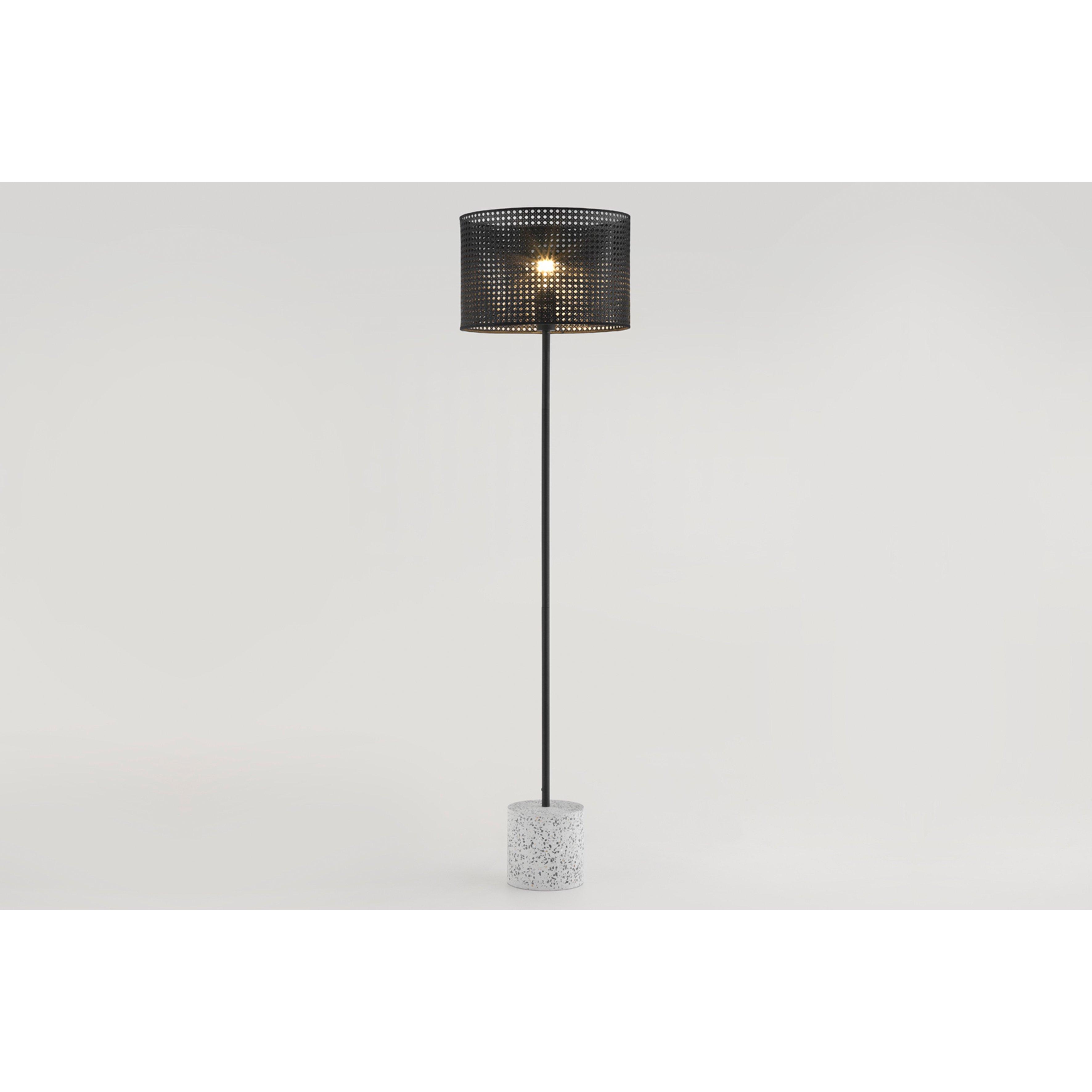 image-Ombre Floor Lamp, Black