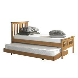 image-Osorno Oak Guest Bed and Trundle Brown