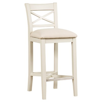 image-Padstow Two Tone Painted Furniture Bar Stool (Pair)