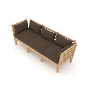 image-Taki Garden Sofa with Cushions Sol 72 Outdoor