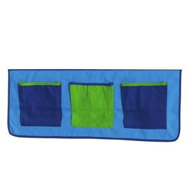image-Palacios Bunk Bed Print Pocket Isabelle & Max Colour: Blue