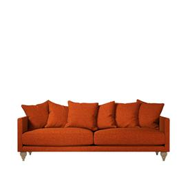 image-Swoon Winchester Three-Seater Sofa in Pimpernel Smart Wool With Light Feet