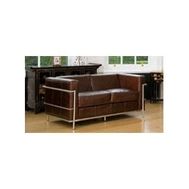 image-Manhattan 2 seat brown