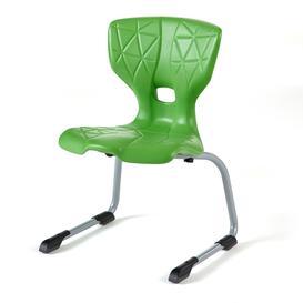 image-Children's chair ALDA III, H 350 mm, green