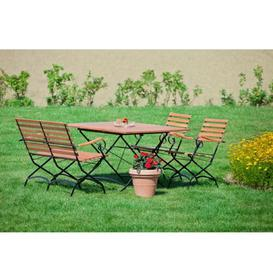 image-Comfort 4 Seater Dining Set Sol 72 Outdoor