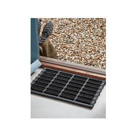 image-Boot Scraper Doormat - Black