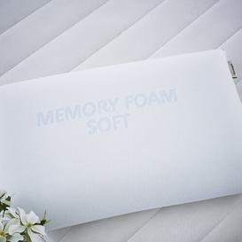 image-Memory Foam Soft Pillow Silentnight