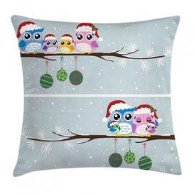 image-Kalum Christmas Family on Tree Outdoor Cushion Cover Ebern Designs Size: 45cm H x 45cm W
