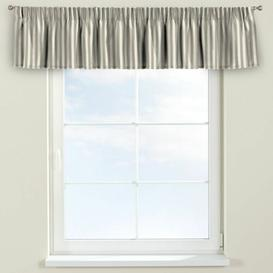 image-Quadro Curtain Pelmet Dekoria Size: 390cm W x 40cm L, Colour: Light Brown/Ecru