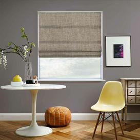 image-Joyford Room Darkening Roman Blind Ebern Designs Size: 240 cm W x 180 cm L, Colour: Linen Stone