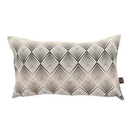 image-Ames Cushion with filling Ebern Designs Colour: Blue