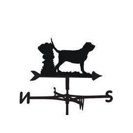 image-Weathervane in Bloodhound Dog Design - Medium (Cottage)