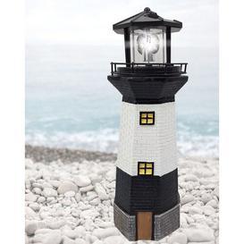 image-Piers Solar Lighthouse Decorative Lantern Longshore Tides