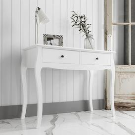 image-Camille Console Table in White
