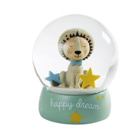 image-Multicoloured Lion Snow Globe