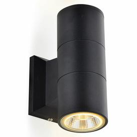 image-Bluffs LED Outdoor Wall Light Sol 72 Outdoor Fixture Finish: Black